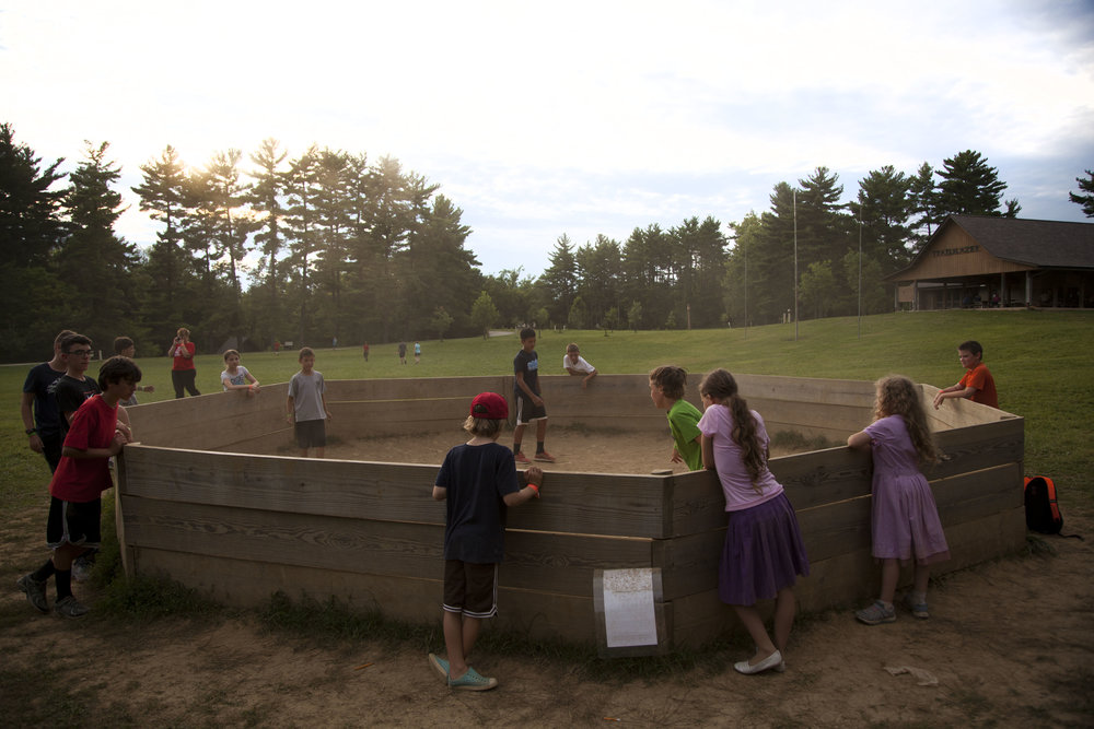 day 33 - the boys love Gaga Ball