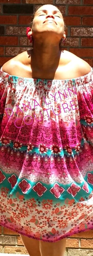 Dana / Creative Designer at DANA LYNN COUTURE (wearing the 'Francine' dress by DANA LYNN COUTURE).