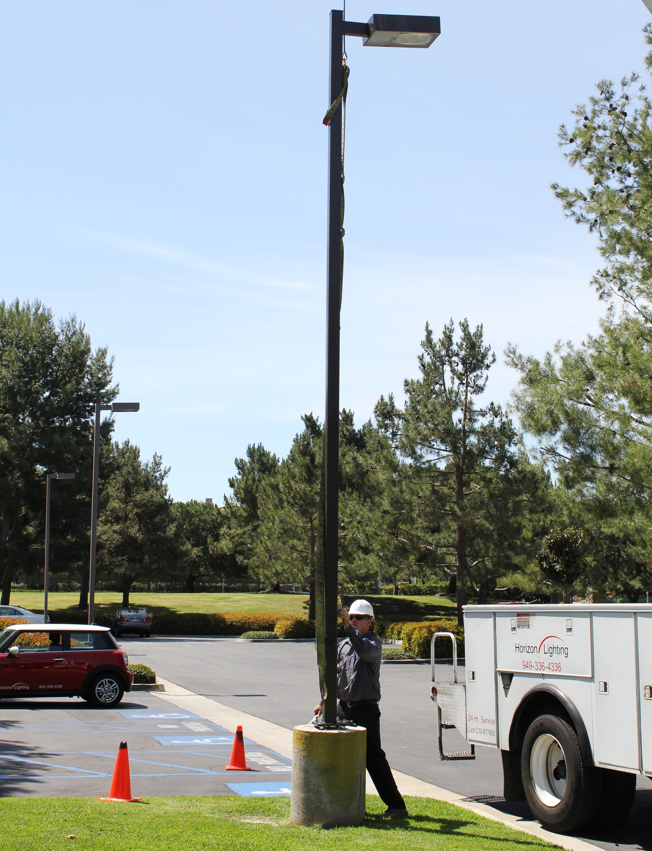 Ultrasonic Pole Inspection