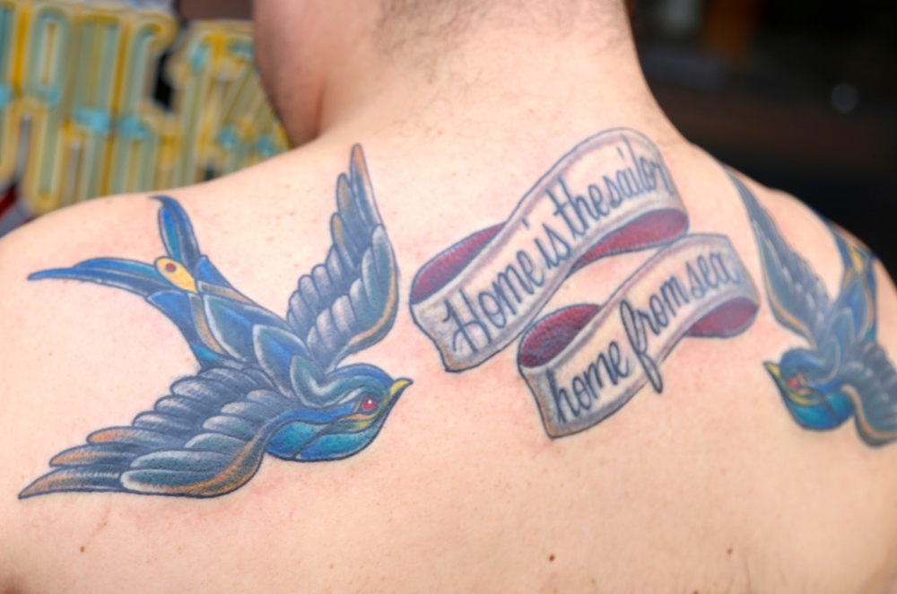 Birds saying some shit enrique bernal ejay tattoo.JPG