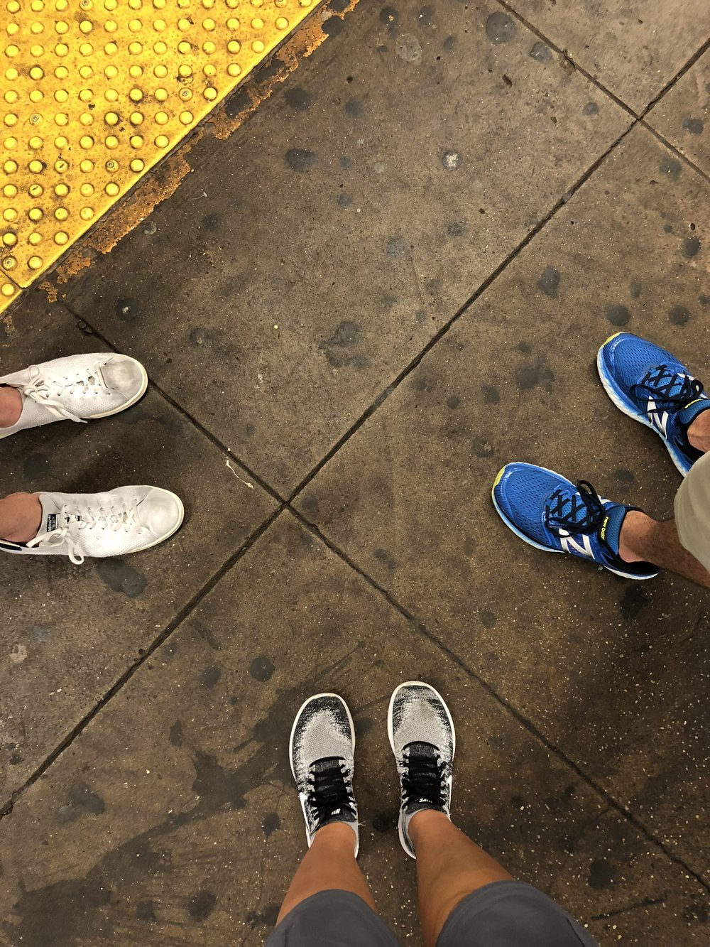 Swass: the sweat that runs down your back and settles into the crack of your ass.  - We kicked off the summer with a trip to NYC with our oldest. It was HOT. No big deal if you're not spending hours walking in the suffocating city or waiting for a subway train in stagnant, recycled air.  Still ... It was an unforgettable trip filled with laughter, new adventures, amazing food, and swass. (Sweat running down our asses ALL day long)