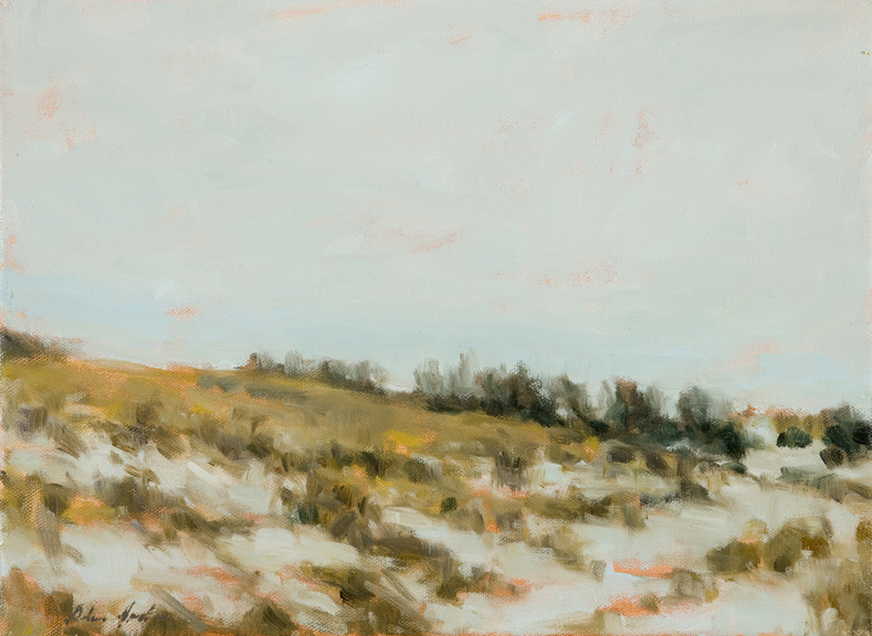 """Frosted Fields"" by Dolores Justus (c)2010"