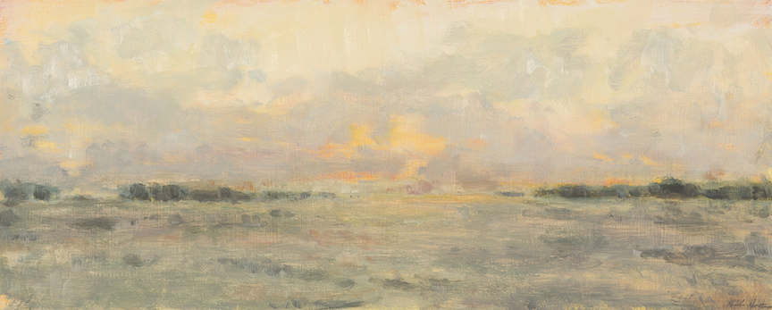 """Morning Fog and Sunshine"" by Dolores Justus (c)2012"
