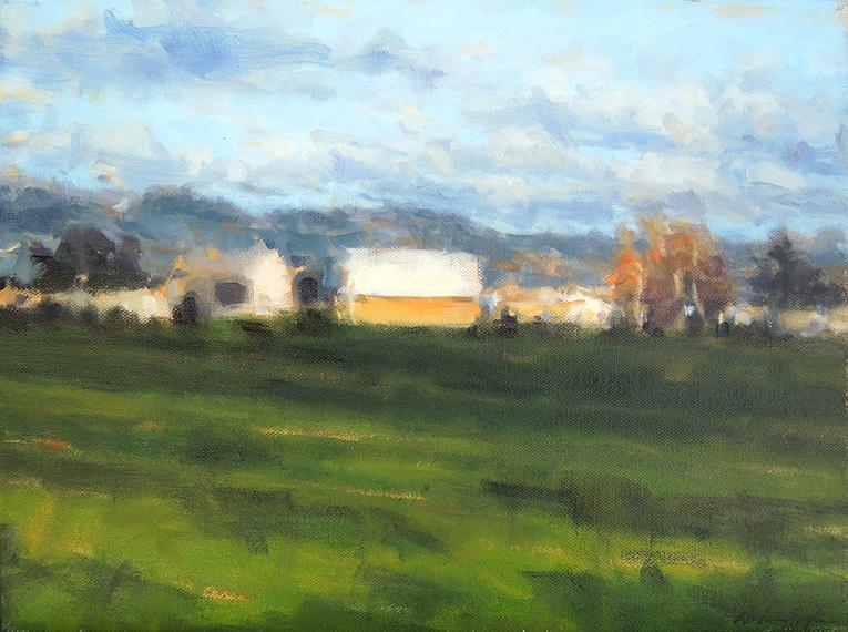 """""""Transcendent Farm"""" by Dolores Justus (c)2018"""