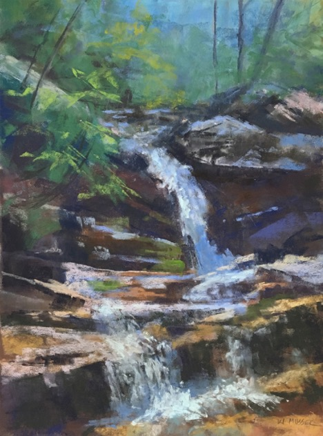 """Cool Waters Falling"" by Wendy Musser"