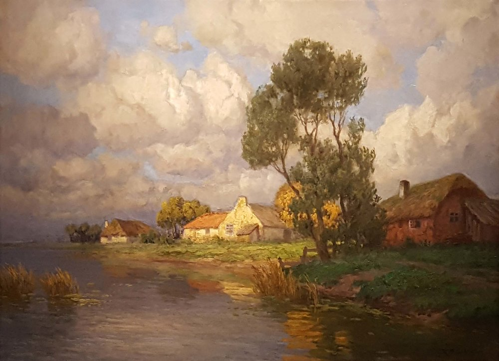 """Dutch Farms by the River"" by HK Gabriel"