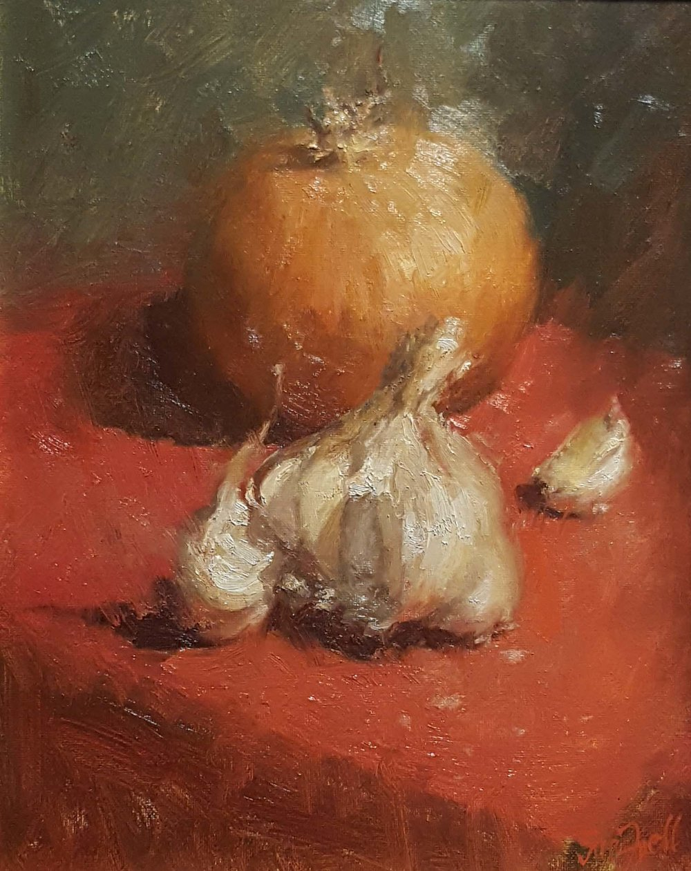 """Garlic and Onion"" by Sue Foell"