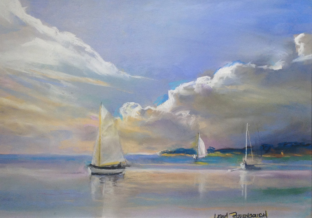 """Sailing the Outerbanks"" by Leigh Rodenbough"