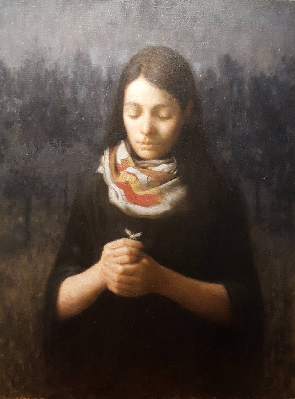 """Girl with Moth"" by Karl Wennergren"