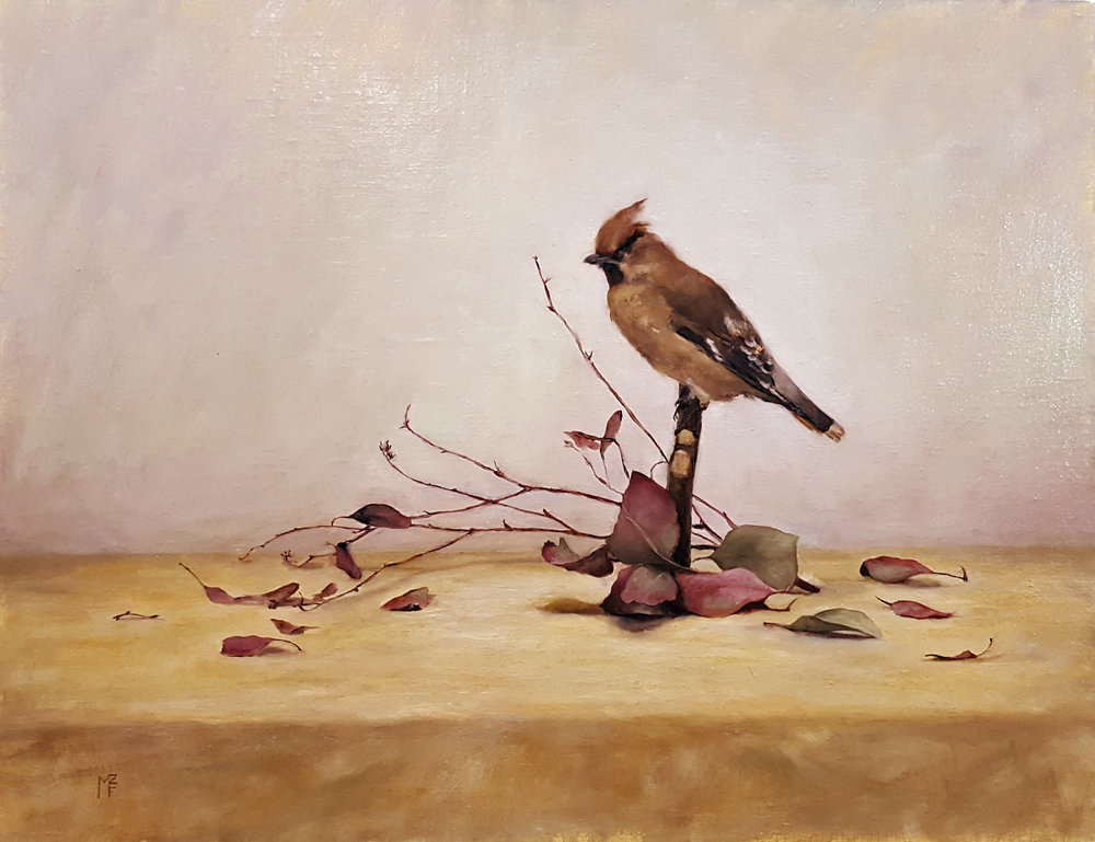 """Composition with Bird"" by Molly Feeley-Zimmerman"
