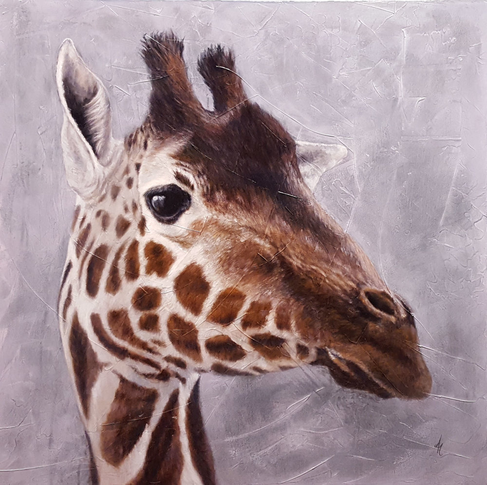 """Giraffe"" by Andrea Hennings"