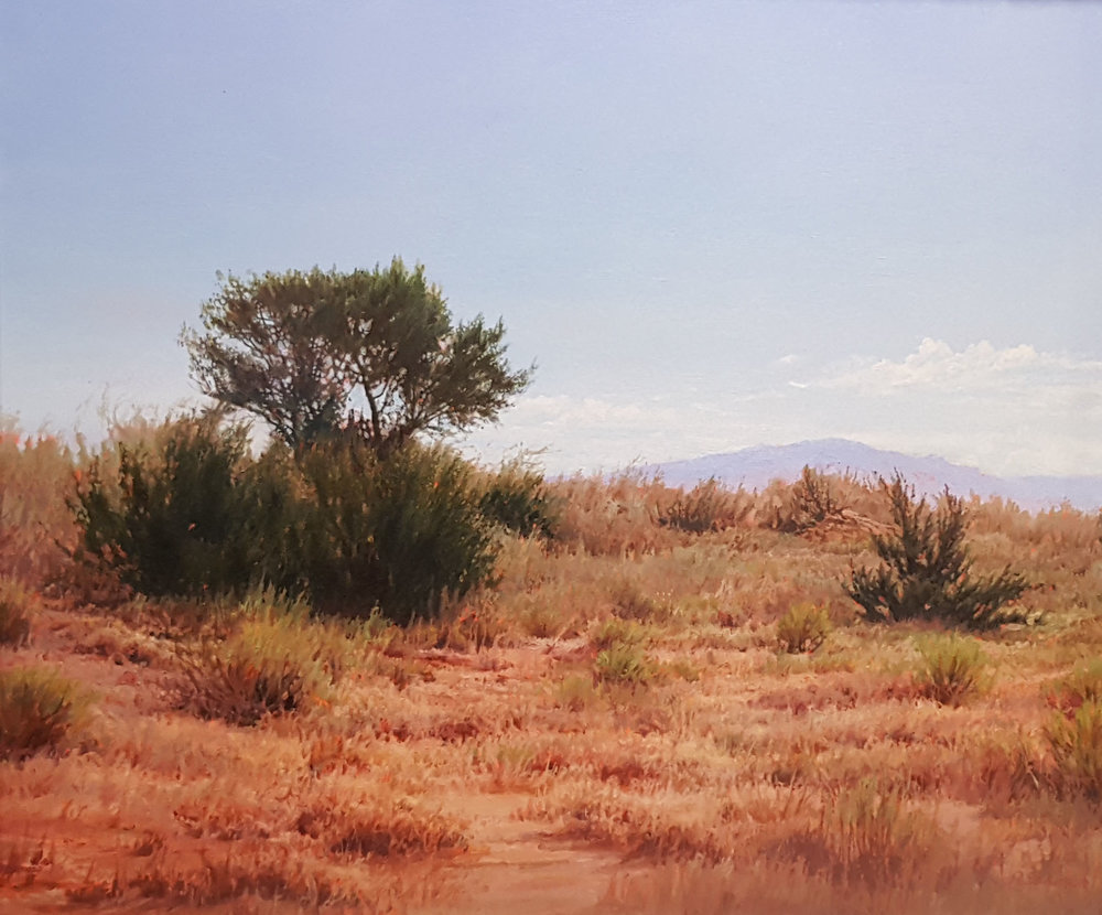 """Distant Sandia"" by Richard Sedlack"
