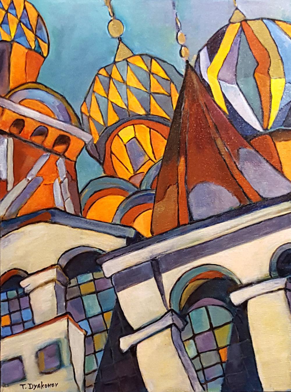 """St. Basil Cathedral"" by Tatyana Dyakonov"