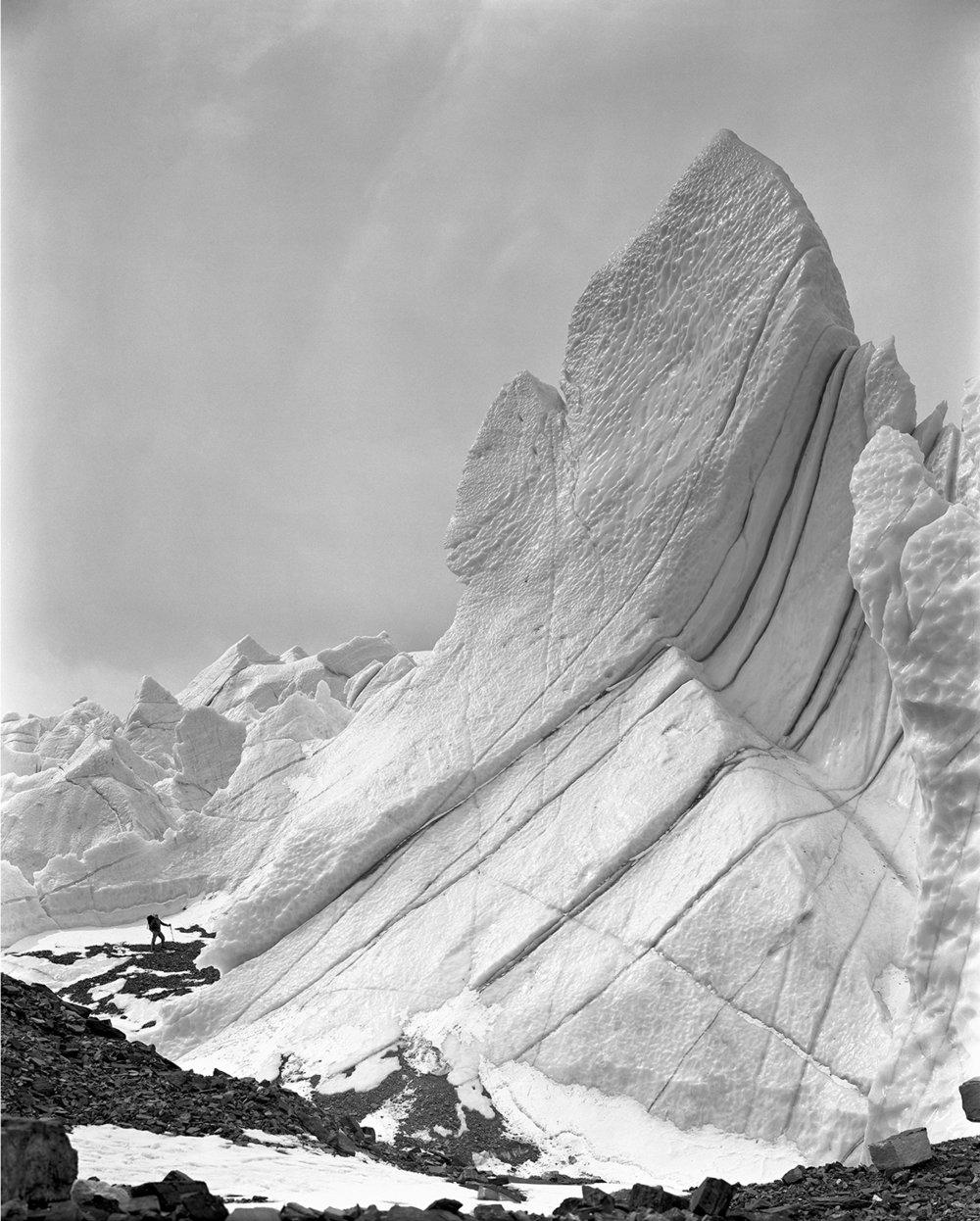 Penitenti East Rongbuk Glacier, Tibet