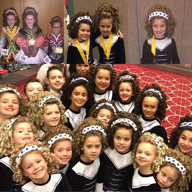 Day 2 dancers made us proud! Shoutout to Fallon Doran for winning Traditional Set U9!
