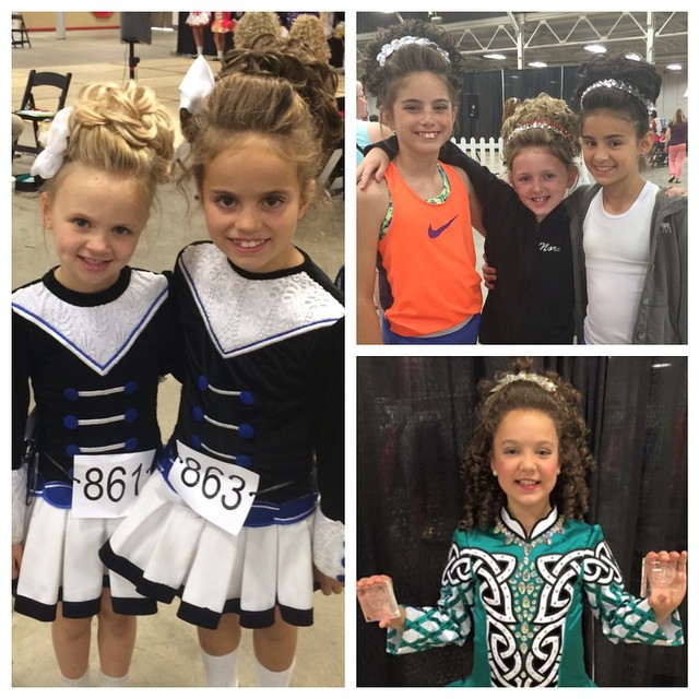 Great day at the Indianapolis Feis, lots of happy dancers coming back home!! #crosskeysid #feis #irishdance