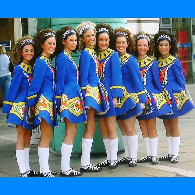 In honor of the Girl's Ceili 13-16 competing today, here is our team that took 9th in the competition 13 years ago! #crosskeysid #irishdance #clrgworlds2015