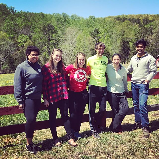 Gorgeous and productive weekend with our awesome crew of #volunteers from #pittsburgh #PULSE !! #volunteersrock #trailclearing #youbelonghere #cometogether #cometothequiet #thequietiscalling #fillyourcup #restyoursoul #virginiavolunteers #soulactivists #youngactivists #youngactivecitizens