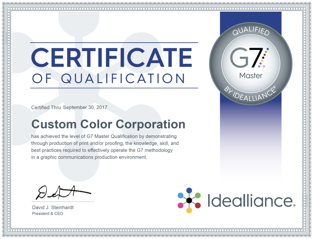 Generating Greatness: G7 Master Qualification