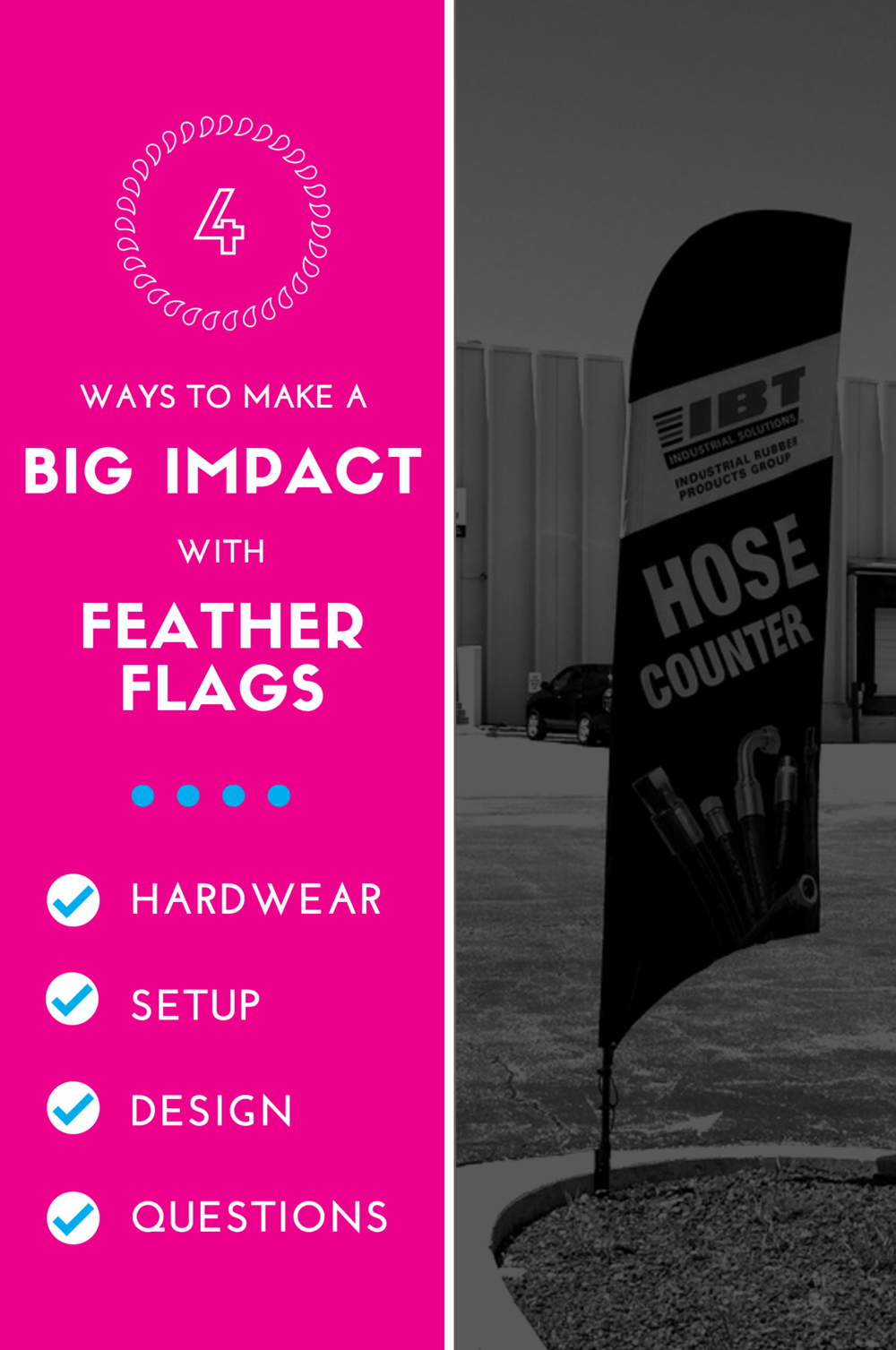 Figuring it Out: Four tips for Feather Flags