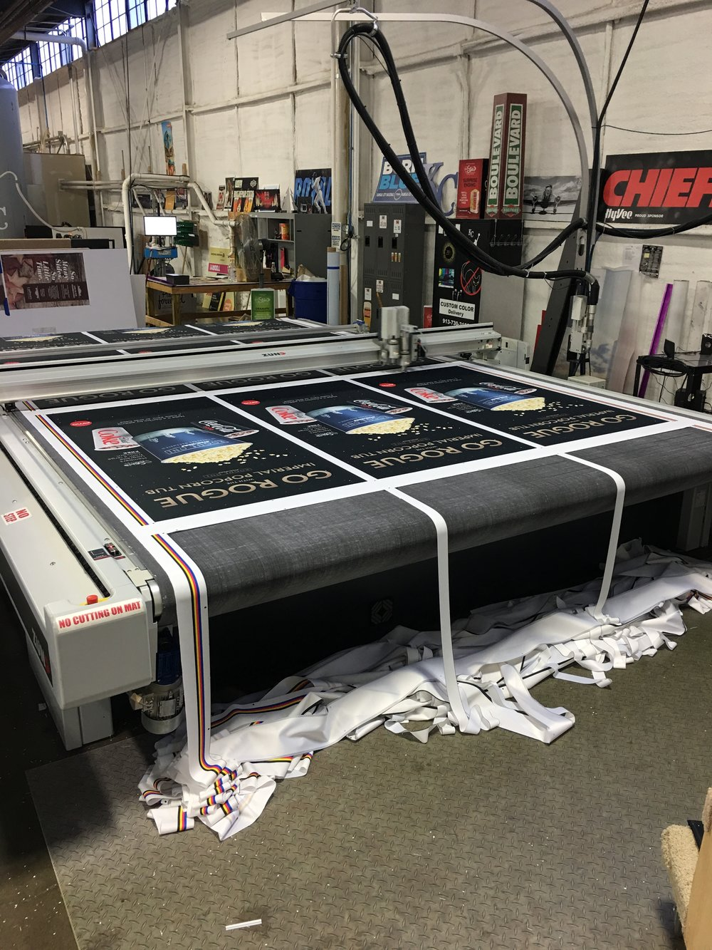Fast Finishing: Automated Cutting