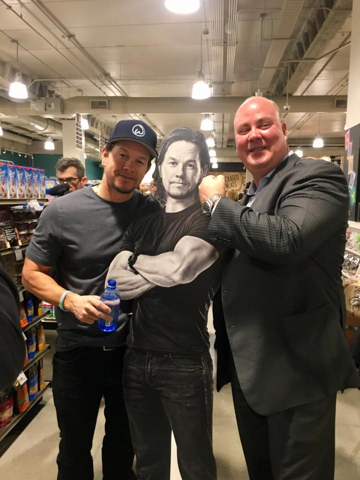 Mark Wahlberg Cutout