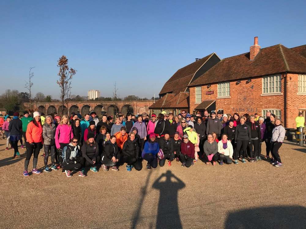 RV members at Fareham parkrun