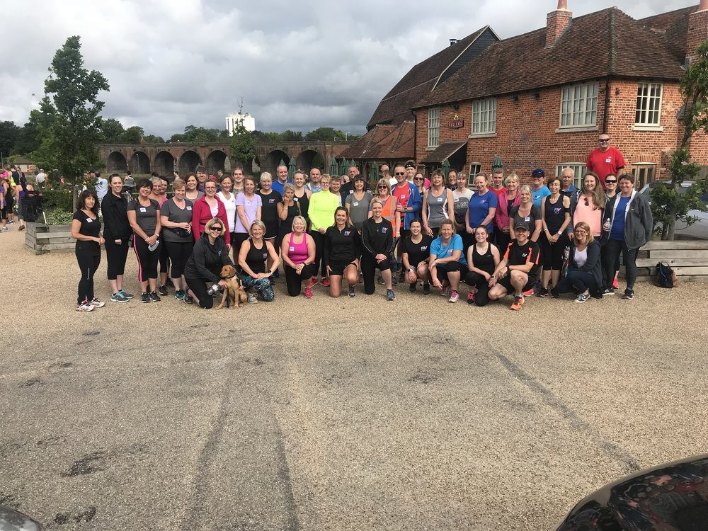 RV Graduates from April's Beginner's Running Course