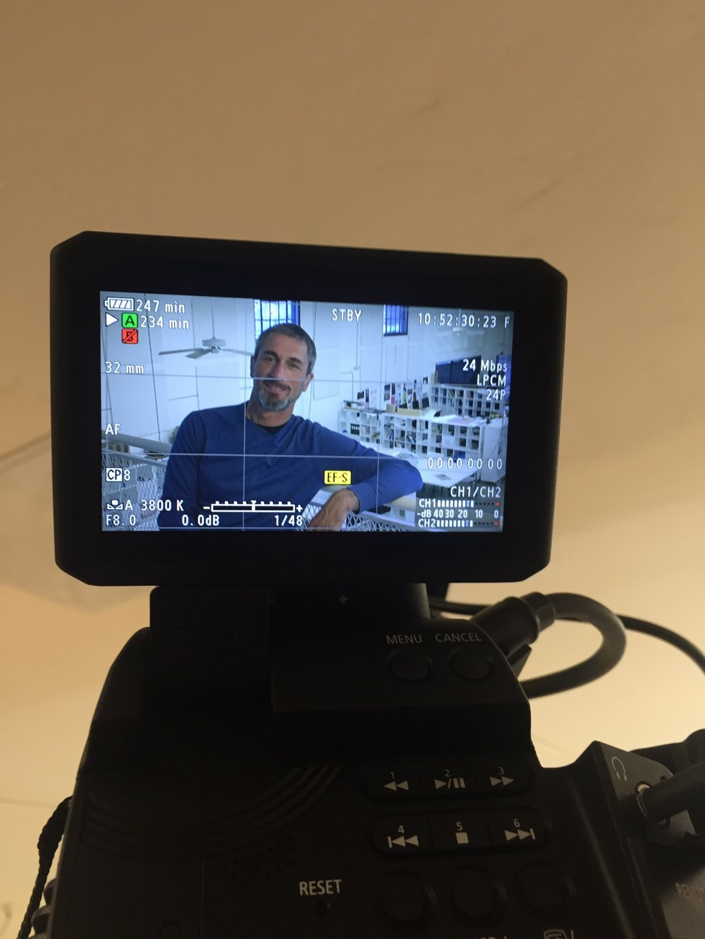 PSS interviewing Dario Miticocchio for the UCSD Design Lab