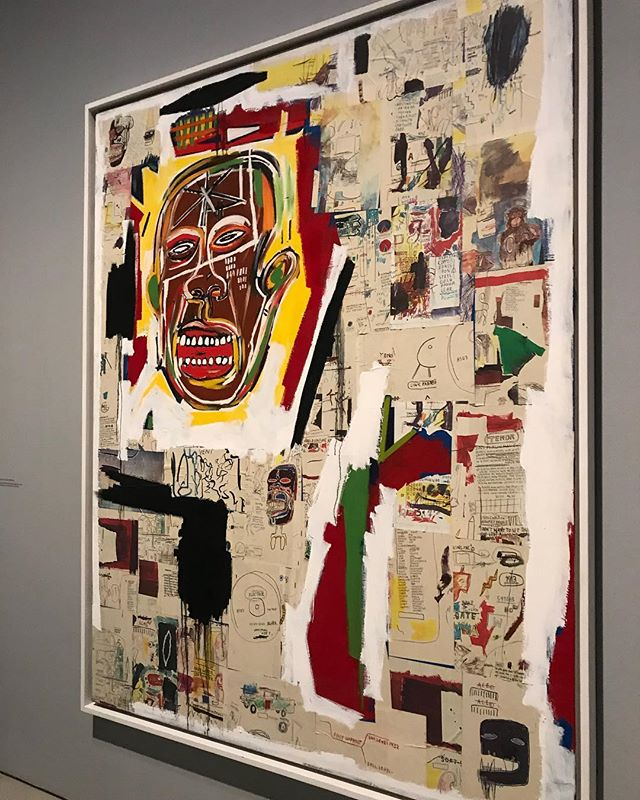 """""""I don't listen to what art critics say. I don't know anybody who needs a critic to find out what art is."""" - Jean-Michel Basquiat  #visionary #contemporaryart #basquiat"""