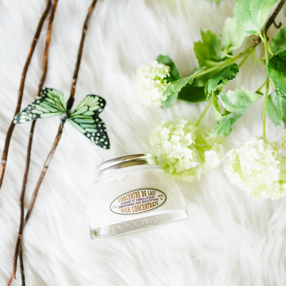 Almond Milk Concentrate . The richest and creamiest body butter with a scent that lasted all day long.