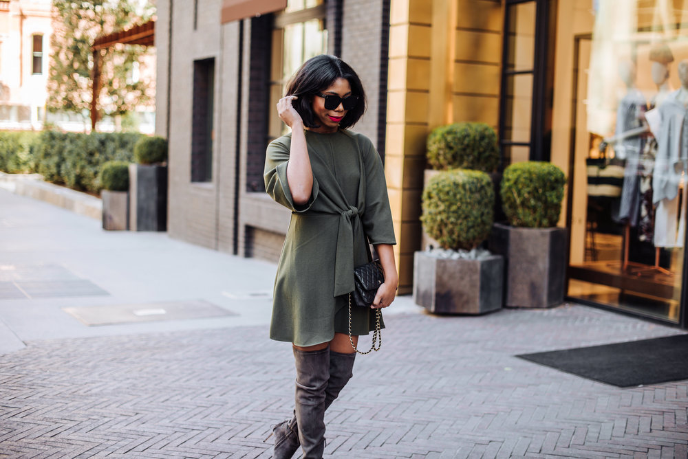 Black Fashion Bloggers Style Over The Knee Boots.JPG