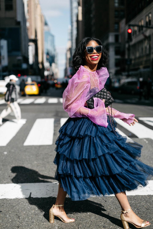 New York Fashion Week Street Style Black Blogger