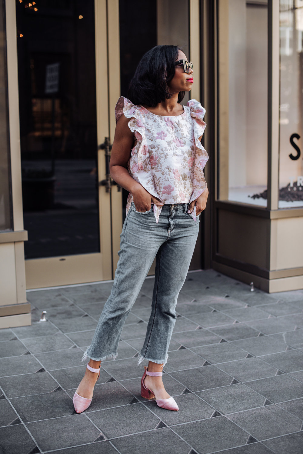 Ruffle Top Nordstrom Spring Outfits .JPG