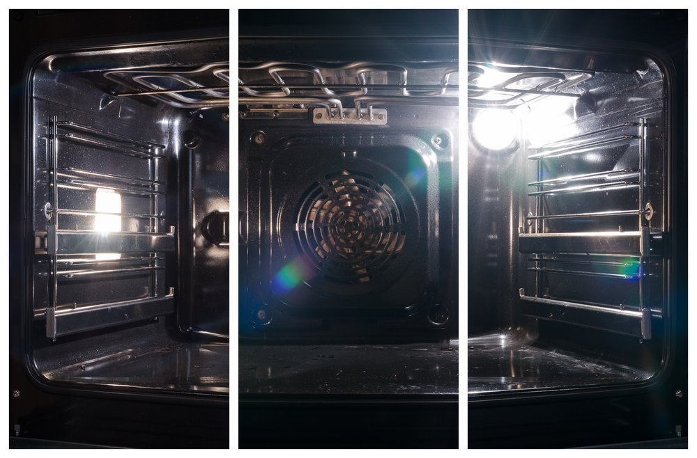 Backofen, 2016 Inkjet-Pigmentdruck 3-teilig zu je 40 ×   20 cm