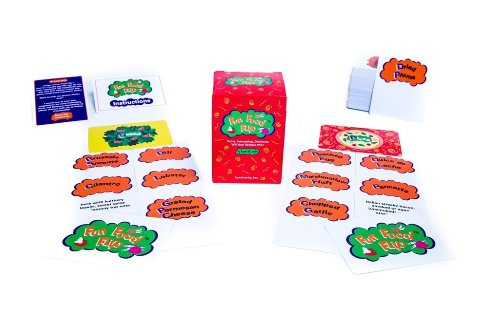 CAUTION: Dynamic, engaging game play ahead! Fun Food Flip® has thousands of Gross, Interesting & Delicious combos for maximum repeat play!