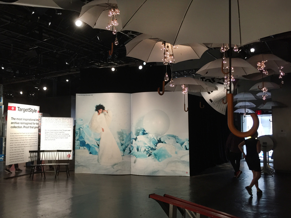 Target, in Vogue NYFW Kickoff Event 2015: Story Pages (MDF, Sintra, Vinyl; 17.5'x12'x1')