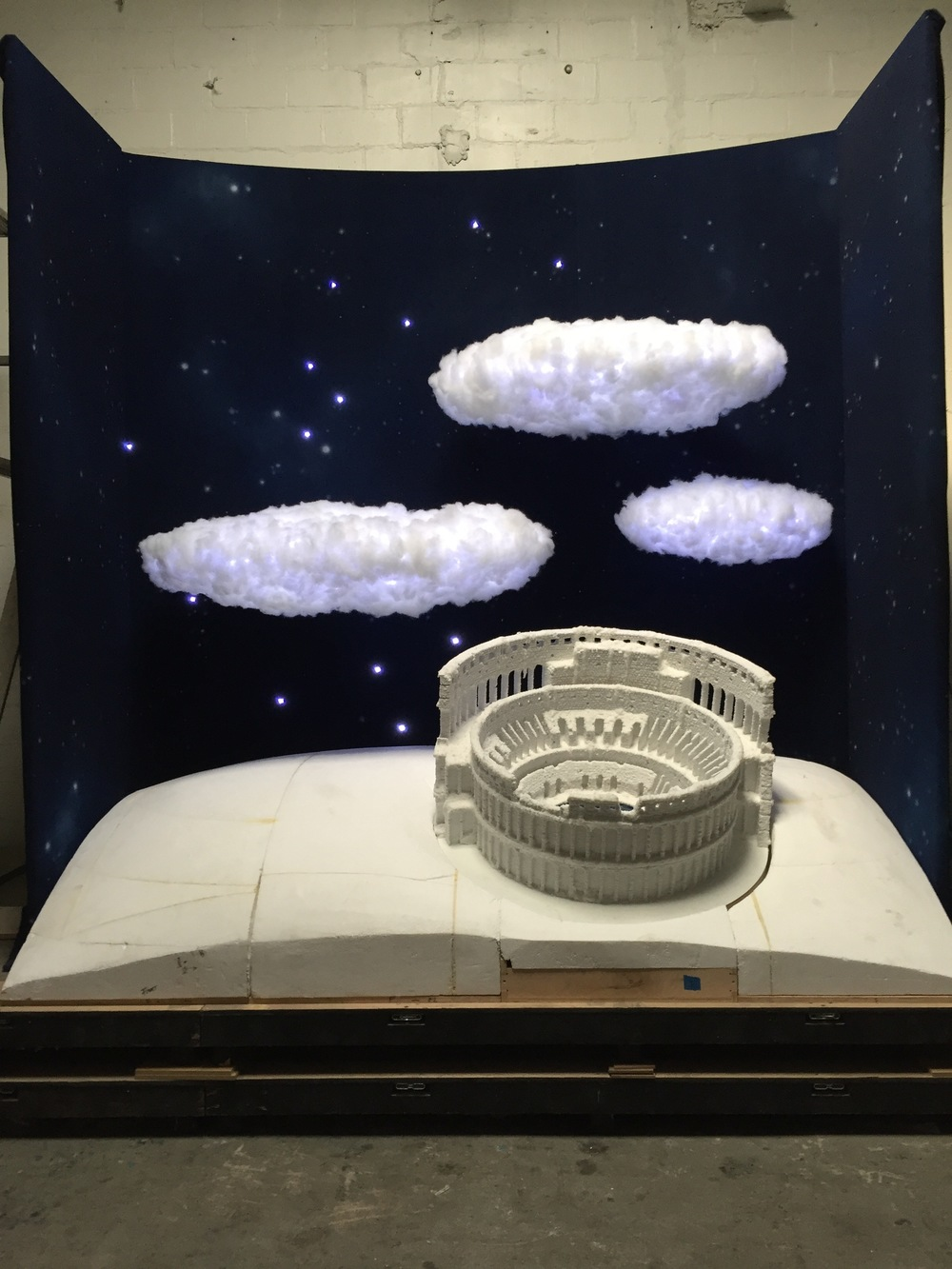 Saks Fifth Avenue Holiday Windows 2015: The Ice Cold Colosseum (Tech Up)