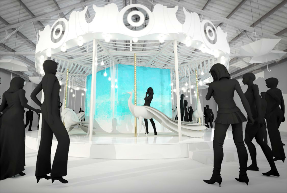 Target, in Vogue NYFW Kickoff Event 2015: Carousel Rendering