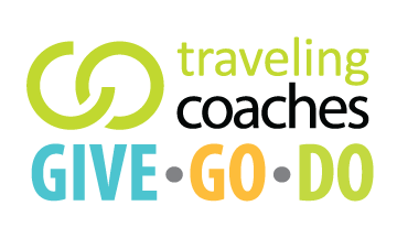 Traveling Coaches Gives Back with Give Go Do