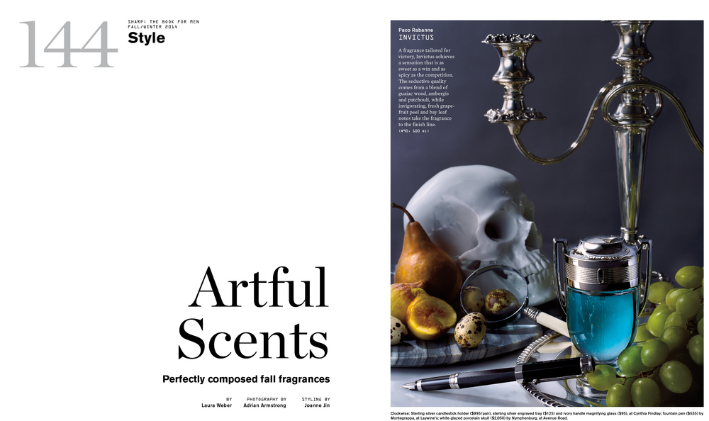 Sharp Magazine / BFM FW14 Fragrance