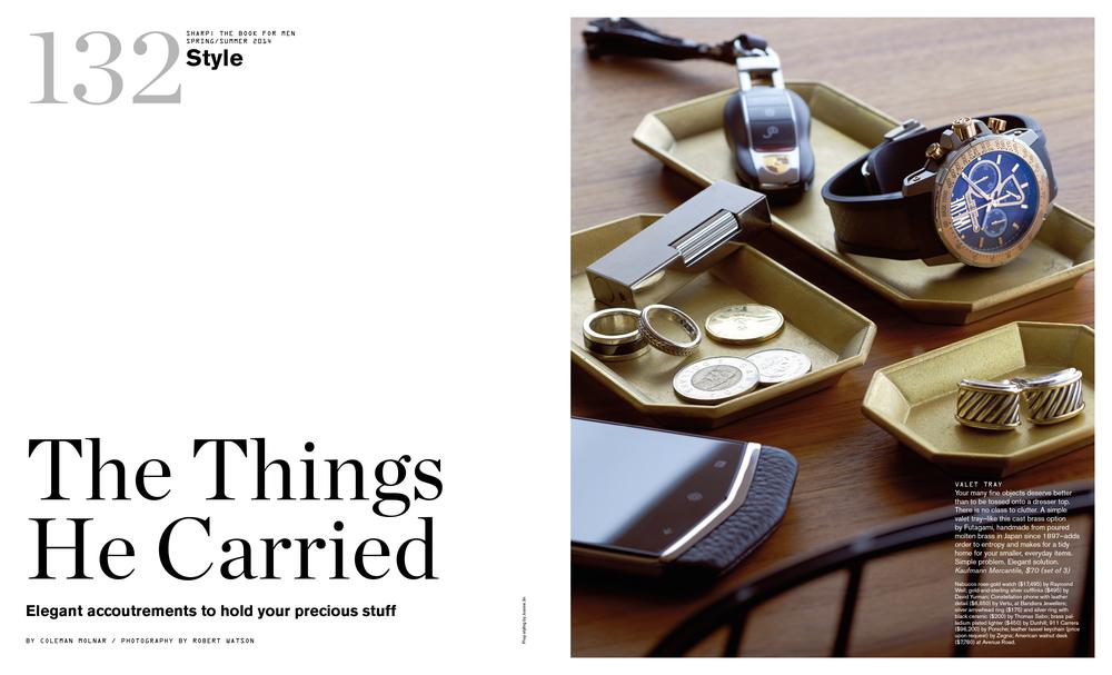 Sharp Magazine / BFM SS14 Style