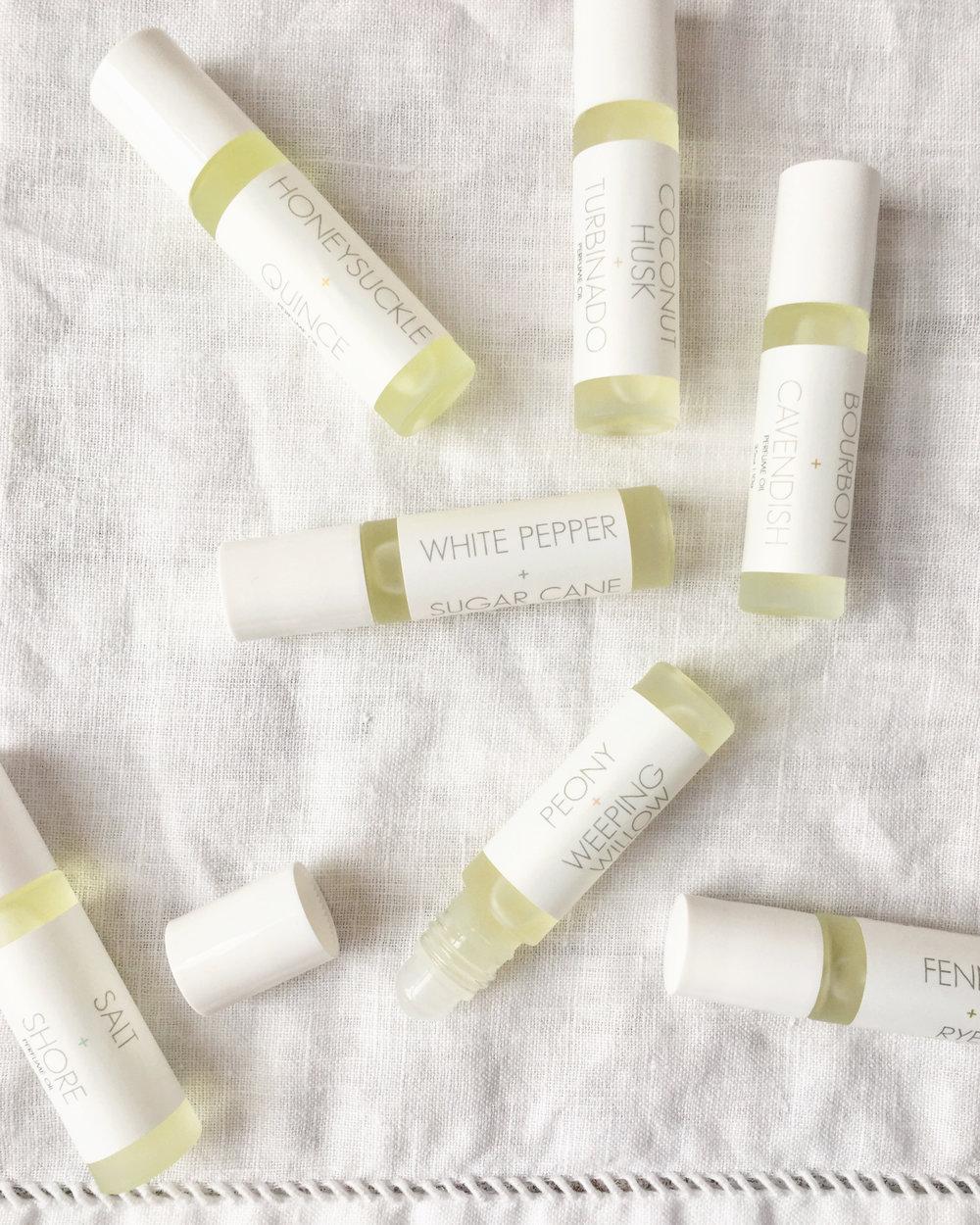 RICA bath + body Roll-on Perfume Assorted on White Napkin 3.jpg