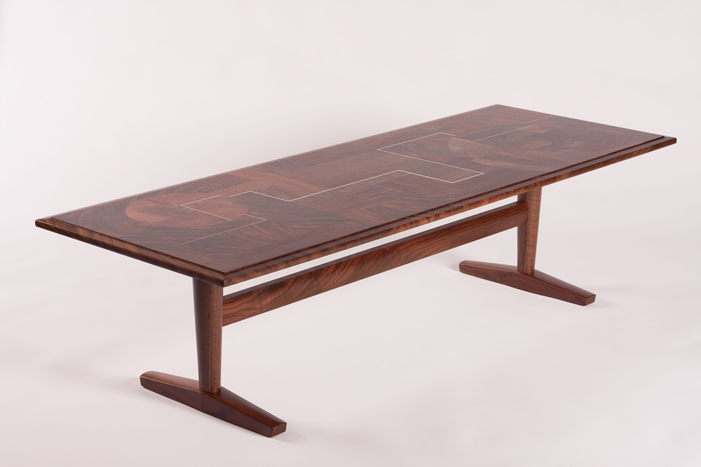 Aerial Coffee Table Grain Furniture Studio By Jason