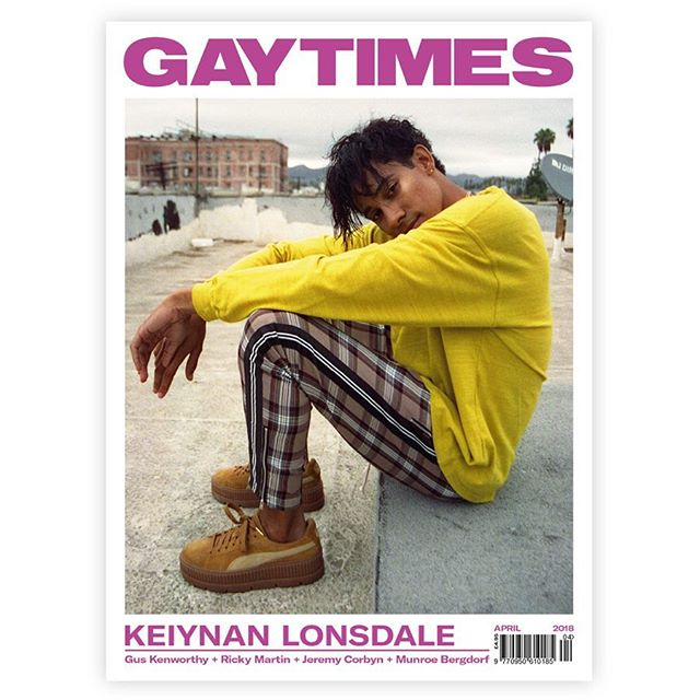 April cover of @gaytimesmag was just announced 😭💖 My og therapist who told me 5 yrs ago that my fears could one day be my strength was right.