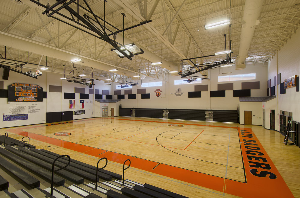 Karnes city High school gym