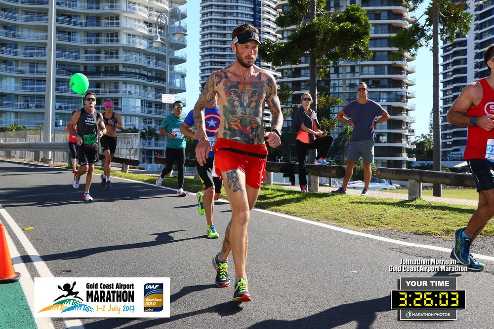 Day 7 was a battle at the Gold Coast Airport Marathon, Australia.