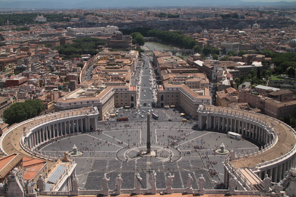 St Peter's Square from top.JPG