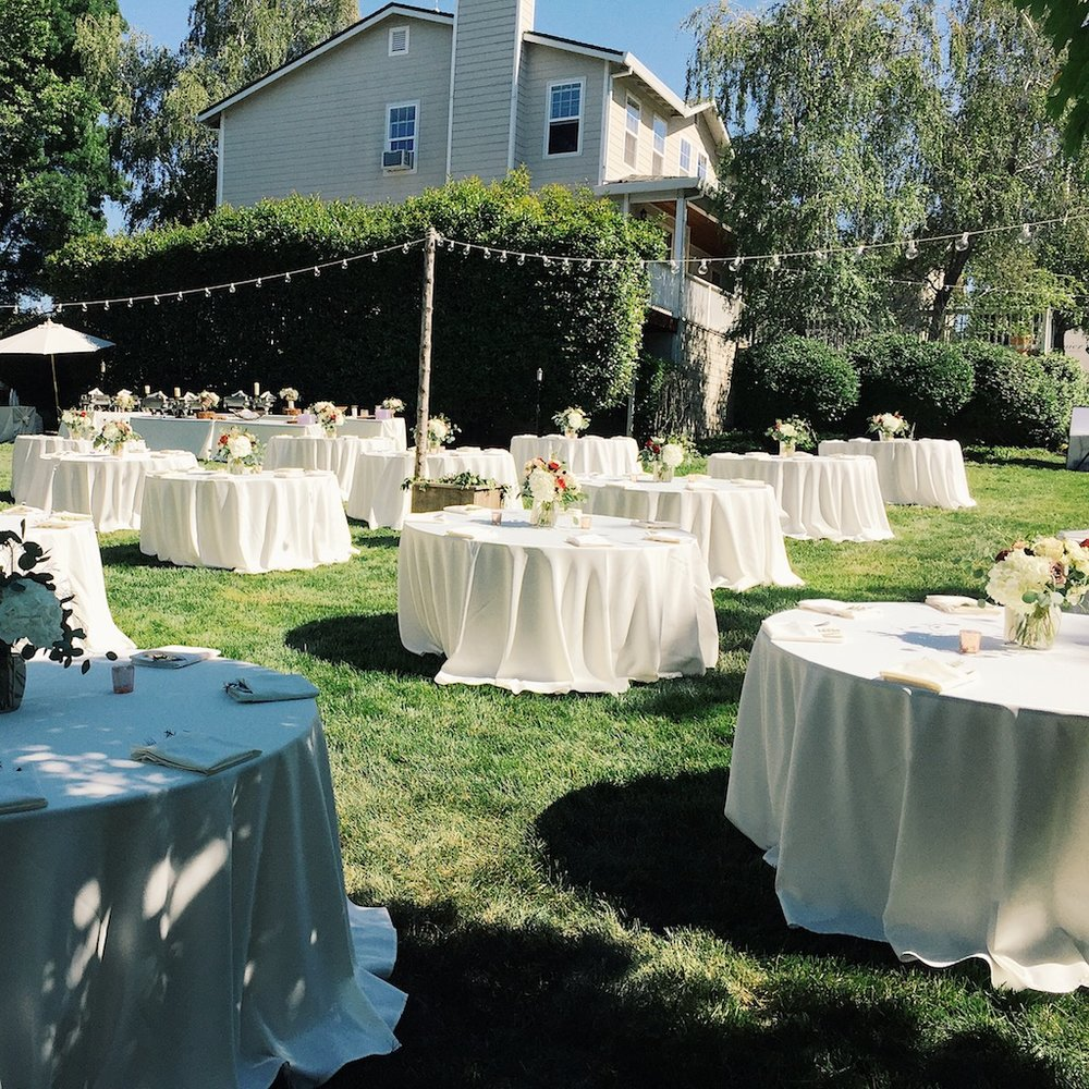 backyard wedding u2014 florist flowers in chico ca north bloom