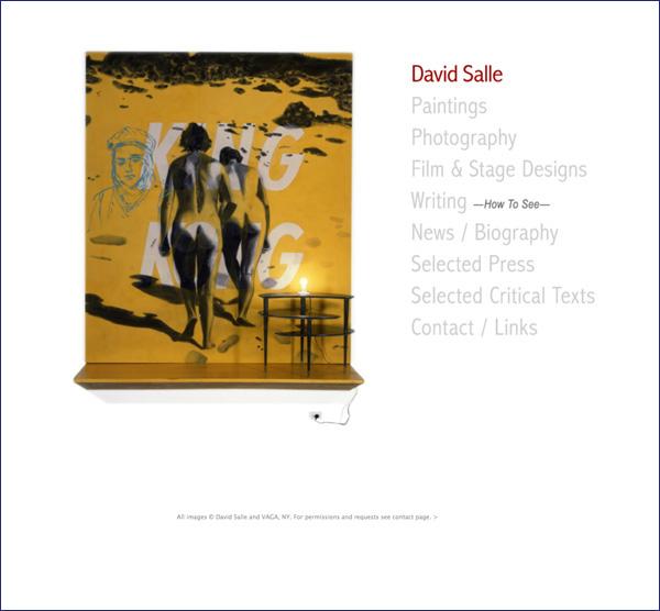 DAVID SALLE STUDIO